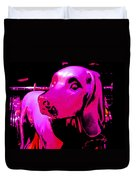 Pink And Purple Pooch Duvet Cover