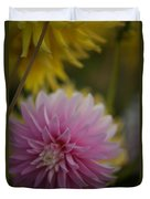 Pink And Yellow Duvet Cover