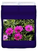 Pink Daisy's Duvet Cover