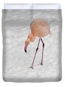 Pink Flamingo  Duvet Cover