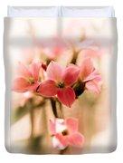 Pink Floral 1 Duvet Cover