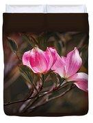 Pink Flower Tree Blossoms No. 247 Duvet Cover
