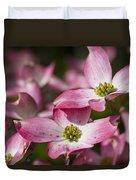 Pink Flowering Dogwood - Cornus Florida Rubra Duvet Cover
