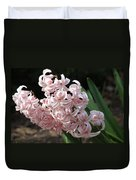 Pink Hyacinth Duvet Cover