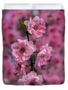Pink On Pink Duvet Cover