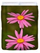 Pink Pair Duvet Cover
