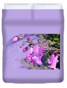 pink Penstemon  Duvet Cover