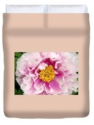 Pink Peony Flowers Series 3 Duvet Cover