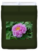 Pink Peony Flowers Series 9 Duvet Cover