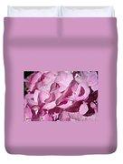 Pink Petal Pushing Duvet Cover