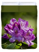 Pink Petals On The Trail Duvet Cover