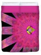 Pink Ribbon Of Hope Duvet Cover