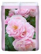 Pink Roses II Duvet Cover