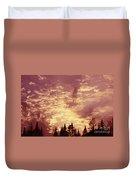 Pink Sunset Duvet Cover