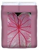 Pink Veins Duvet Cover