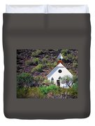 Pioneer Church Duvet Cover