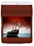 Pirate Ship 2 Duvet Cover