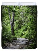 Pisgah Path Duvet Cover