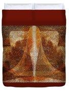 Pistil Duvet Cover by Christopher Gaston