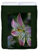 Pistil Powered By Stamen Duvet Cover