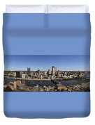 Pittsburgh Panoramic Duvet Cover