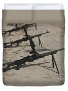 Pk General-purpose Machine Guns Stand Duvet Cover