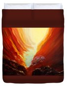 Place In Paradise Duvet Cover