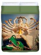 Plai Laem Buddha Duvet Cover