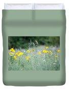 Plains Yellow Daisy Duvet Cover