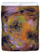 Planet Perspectives Duvet Cover