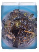 Planet Wee Montreal Quebec Duvet Cover