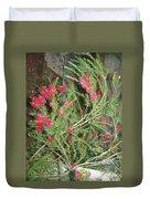 Plant And Flower Duvet Cover