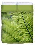 Plant Detail, Close Up Duvet Cover