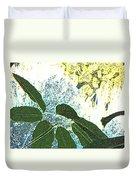 Plant Life Inside-outside Duvet Cover