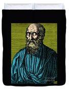 Plato, Ancient Greek Philosopher Duvet Cover