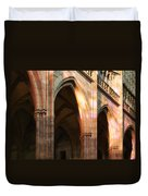 Play Of Light And Shadow - Saint Vitus' Cathedral Prague Castle Duvet Cover