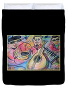 Play The Blues Duvet Cover