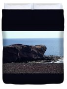 Playa Blanca Duvet Cover