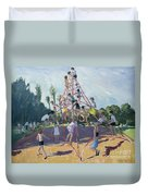Playground Duvet Cover by Andrew Macara