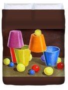 Playground  Duvet Cover by Irina Sztukowski