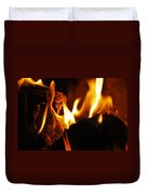 Playing With Fire II Duvet Cover