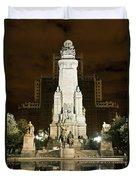 Plaza De Espana Madrid Spain Duvet Cover