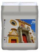 Plaza De Toros De La Maestranza - Seville  Duvet Cover