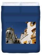 Plaza De Toros De La Real Maestranza - Seville Duvet Cover