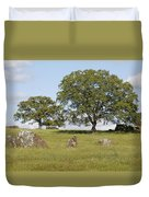 Pleasant Hillside Duvet Cover