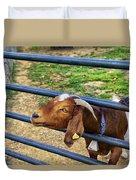 Please Exonerate Me - Billy Goat Duvet Cover