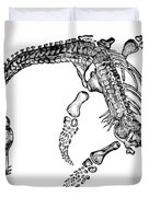 Plesiosaurus Duvet Cover by Science Source
