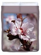 Plum Blossoms 10 Duvet Cover