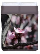 Plum Blossoms 9 Duvet Cover