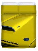 Plymouth Duster 340 Hood Scoop Duvet Cover